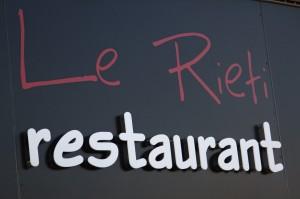 Le Rieti Restaurant Le Pontet