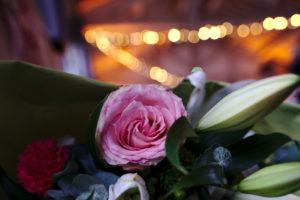 Bouquet Rose Décoration de Mariage en Provence