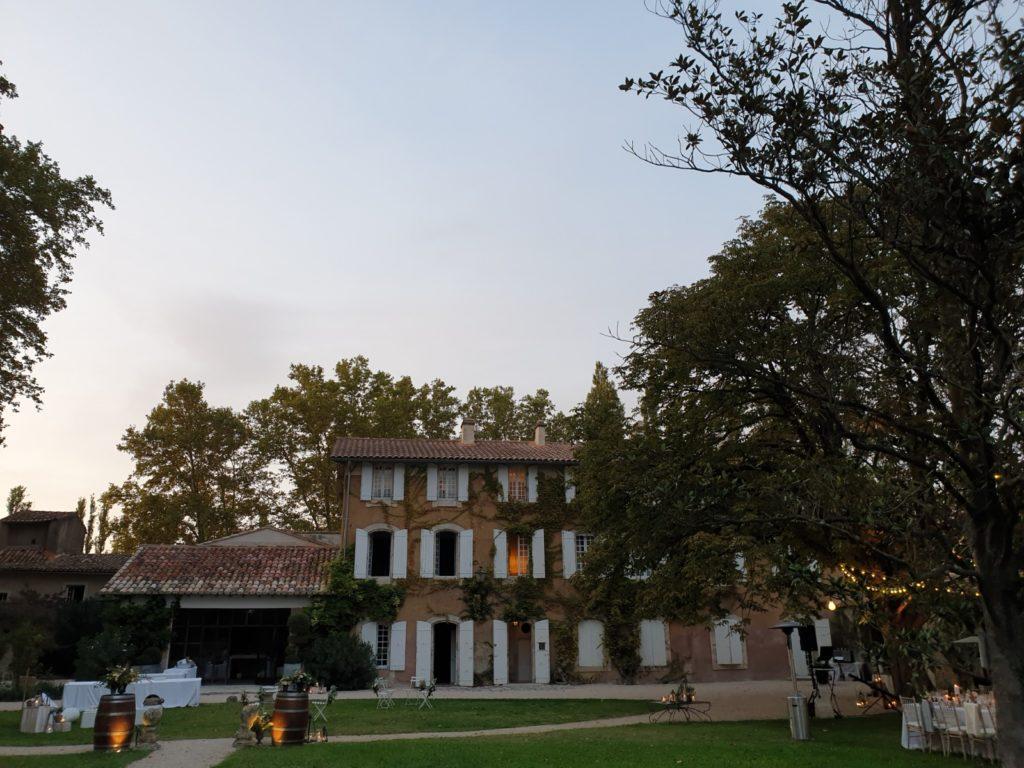 Domaine pour mariage Proche d'Avignon -Lisle sur sorgue Domaine de Palerme